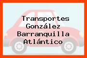 Transportes González Barranquilla Atlántico
