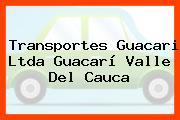 Transportes Guacari Ltda Guacarí Valle Del Cauca