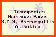 Transportes Hermanos Pansa S.A.S. Barranquilla Atlántico