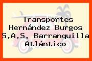 Transportes Hernández Burgos S.A.S. Barranquilla Atlántico
