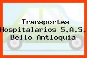 Transportes Hospitalarios S.A.S. Bello Antioquia