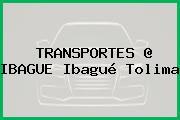 TRANSPORTES @ IBAGUE Ibagué Tolima