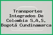 Transportes Integrados De Colombia S.A.S. Bogotá Cundinamarca