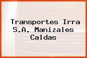 Transportes Irra S.A. Manizales Caldas