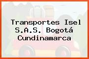 Transportes Isel S.A.S. Bogotá Cundinamarca