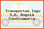 Transportes Isgo S.A. Bogotá Cundinamarca