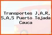 Transportes J.A.R. S.A.S Puerto Tejada Cauca