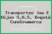 Transportes Jas E Hijos S.A.S. Bogotá Cundinamarca
