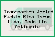 Transportes Jericó Pueblo Rico Tarso Ltda. Medellín Antioquia