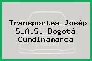 Transportes Josép S.A.S. Bogotá Cundinamarca