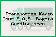 Transportes Karen Tour S.A.S. Bogotá Cundinamarca