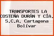 Transportes La Costeña Durán Y Cía. S.C.A. Cartagena Bolívar