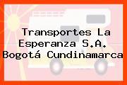 Transportes La Esperanza S.A. Bogotá Cundinamarca