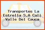 Transportes La Estrella S.A Cali Valle Del Cauca