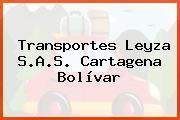 Transportes Leyza S.A.S. Cartagena Bolívar