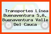 Transportes Línea Buenaventura S.A. Buenaventura Valle Del Cauca