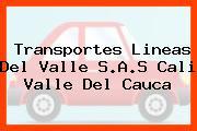 Transportes Lineas Del Valle S.A.S Cali Valle Del Cauca