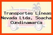 Transportes Líneas Nevada Ltda. Soacha Cundinamarca