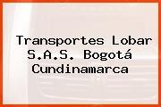 Transportes Lobar S.A.S. Bogotá Cundinamarca