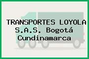 TRANSPORTES LOYOLA S.A.S. Bogotá Cundinamarca