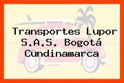Transportes Lupor S.A.S. Bogotá Cundinamarca