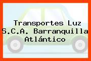 Transportes Luz S.C.A. Barranquilla Atlántico