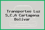 Transportes Luz S.C.A Cartagena Bolívar