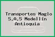 Transportes Maglo S.A.S Medellín Antioquia