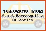 TRANSPORTES MARSOL S.A.S Barranquilla Atlántico