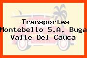 Transportes Montebello S.A. Buga Valle Del Cauca