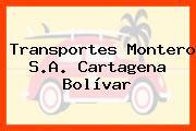 Transportes Montero S.A. Cartagena Bolívar