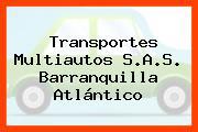 Transportes Multiautos S.A.S. Barranquilla Atlántico