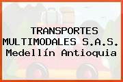 TRANSPORTES MULTIMODALES S.A.S. Medellín Antioquia