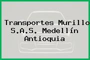 Transportes Murillo S.A.S. Medellín Antioquia
