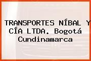 TRANSPORTES NÍBAL Y CÍA LTDA. Bogotá Cundinamarca