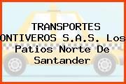TRANSPORTES ONTIVEROS S.A.S. Los Patios Norte De Santander