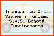 Transportes Ortiz Viajes Y Turismo S.A.S. Bogotá Cundinamarca