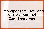 Transportes Ovelars S.A.S. Bogotá Cundinamarca