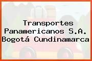 Transportes Panamericanos S.A. Bogotá Cundinamarca