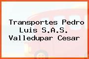 Transportes Pedro Luis S.A.S. Valledupar Cesar