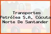 Transportes Petrólea S.A. Cúcuta Norte De Santander