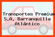 Transportes Premium S.A. Barranquilla Atlántico
