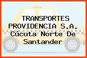 TRANSPORTES PROVIDENCIA S.A. Cúcuta Norte De Santander