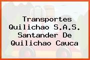 Transportes Quilichao S.A.S. Santander De Quilichao Cauca