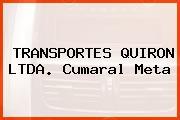 TRANSPORTES QUIRON LTDA. Cumaral Meta