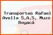 Transportes Rafael Avella S.A.S. Muzo Boyacá