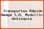 Transportes Rápido Amagá S.A. Medellín Antioquia