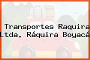 Transportes Raquira Ltda. Ráquira Boyacá