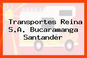 Transportes Reina S.A. Bucaramanga Santander
