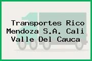 Transportes Rico Mendoza S.A. Cali Valle Del Cauca